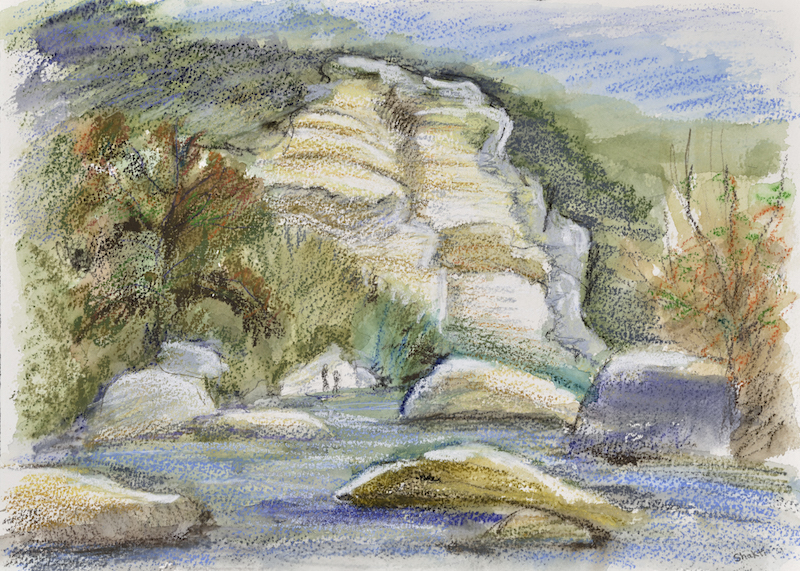 barton creek cliffs, shakti sarkin