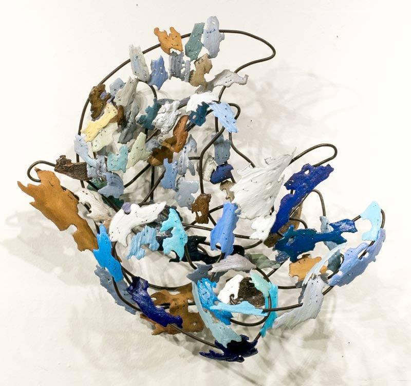 Moonwaves II - sculpture by Shakti Sarkin