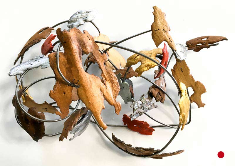 Intoxication of Fire - Sculpture by Shakti Sarkin